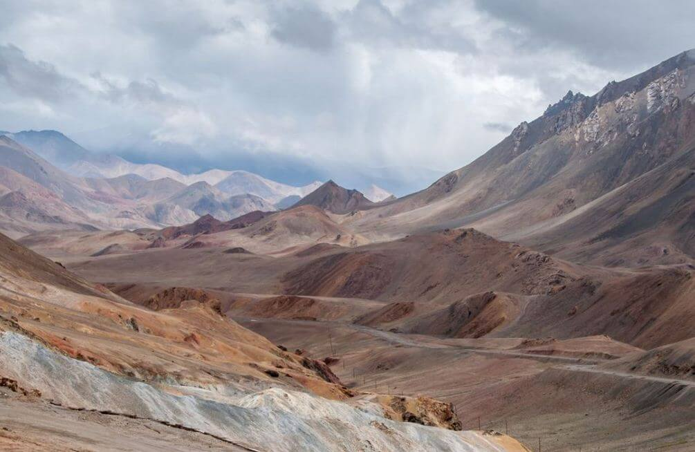 Cycling through Central Asia