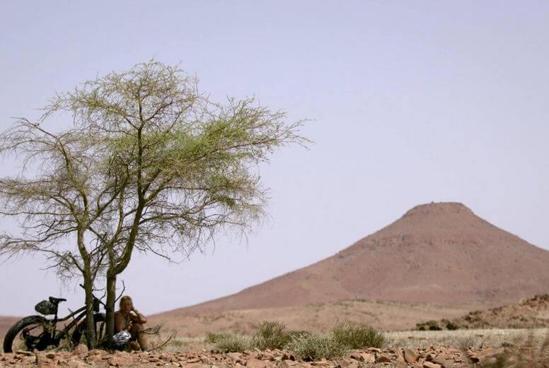 Meet the woman who biked across the desert