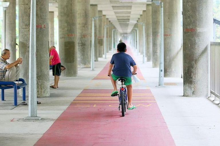 Pedal power push takes off in Ang Mo Kio