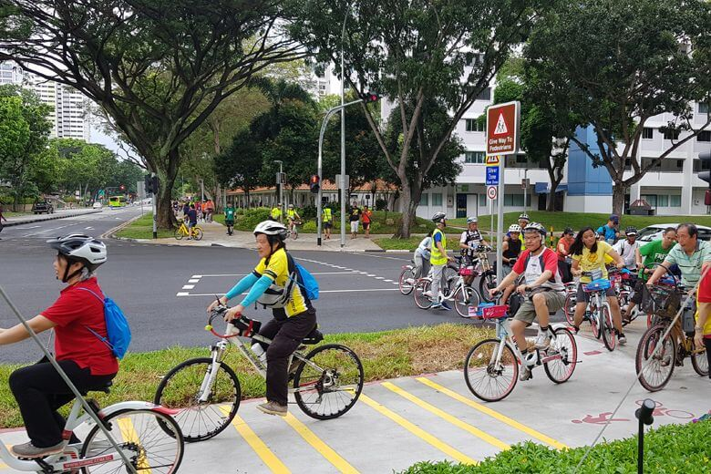 New 13km cycling network opens in Bedok
