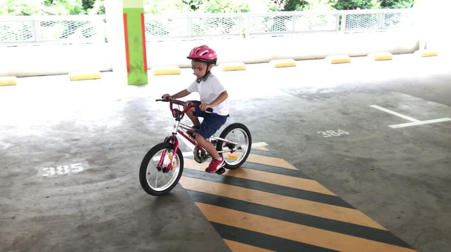 thanks to his endless patience and encouragement our boy is now a confident cyclist