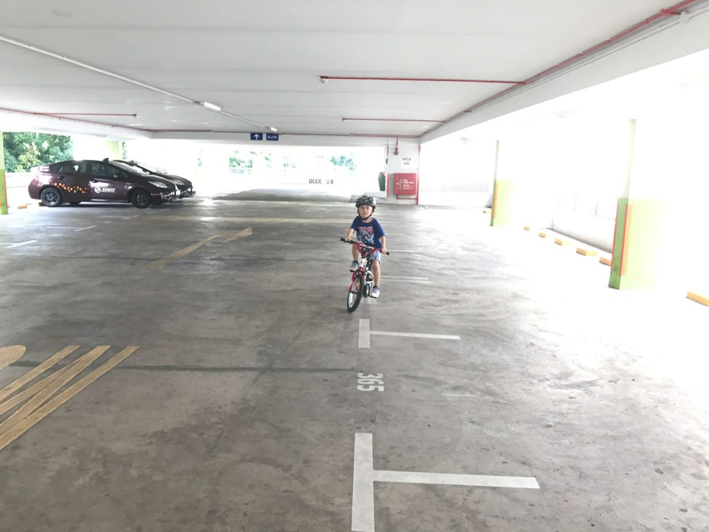 My Autistic son was cycling in his first lesson