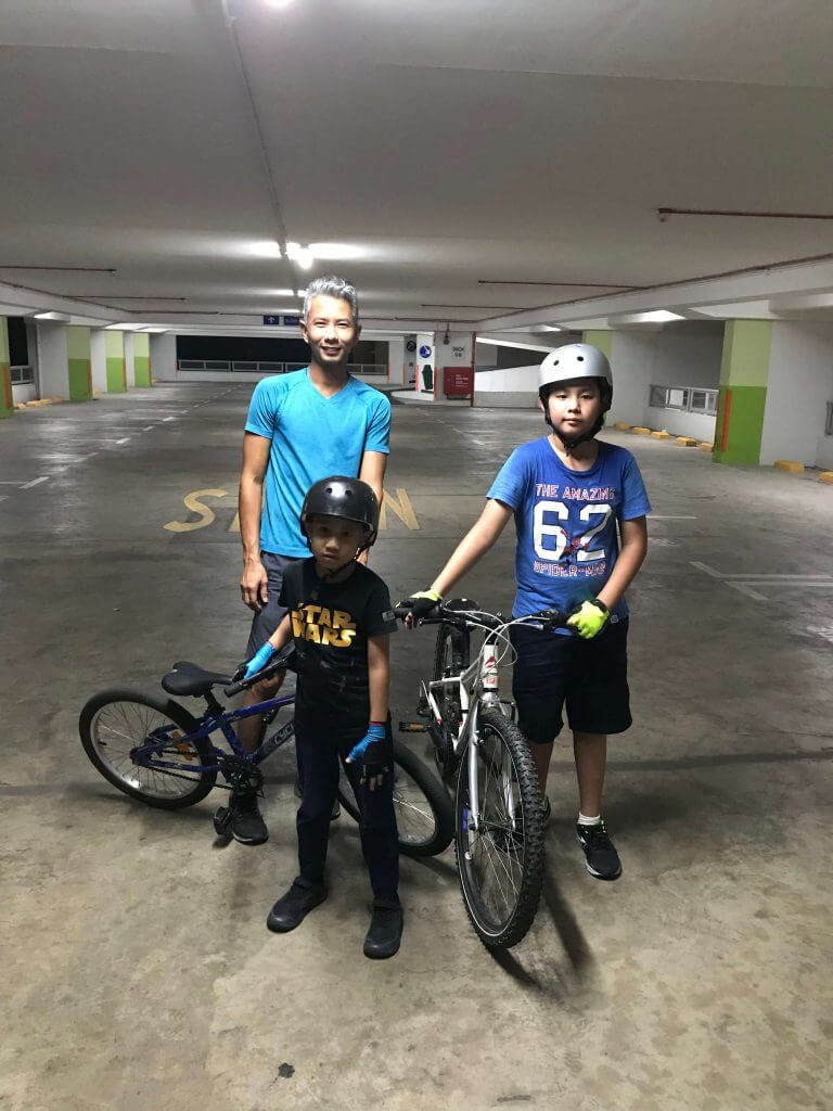 My two kids learnt to ride the bicycle within 2 one-hour lessons. Highly recommended!